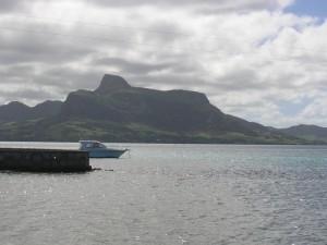 La vue sur la Baie de Vieux Grand Port