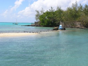 Le lagon de Pointe Jérôme