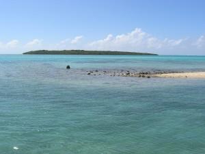 L'île aux Aigrettes fait face à Pointe Jérôme