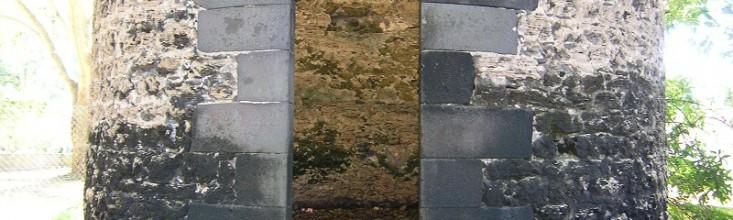 L'entrée de la Tour des Hollandais