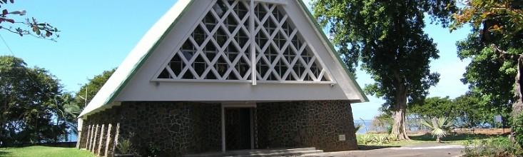 Entrée principale de l'église