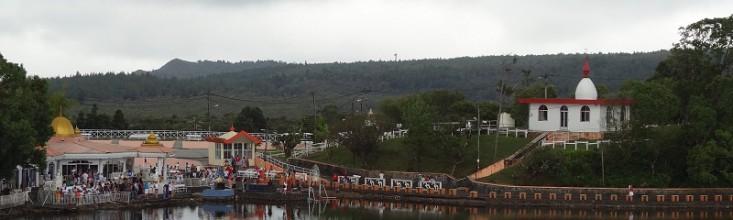 Le fameux bassin d'eau naturel, Ganga Talao